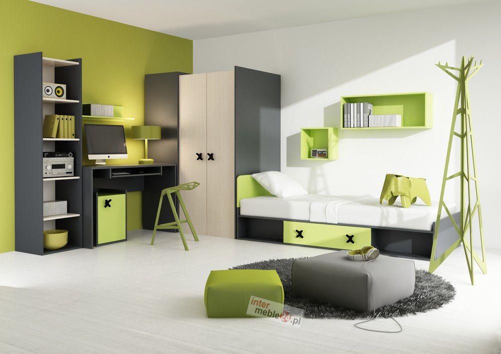 iks 2 nowoczesny nastolatek nowo. Black Bedroom Furniture Sets. Home Design Ideas