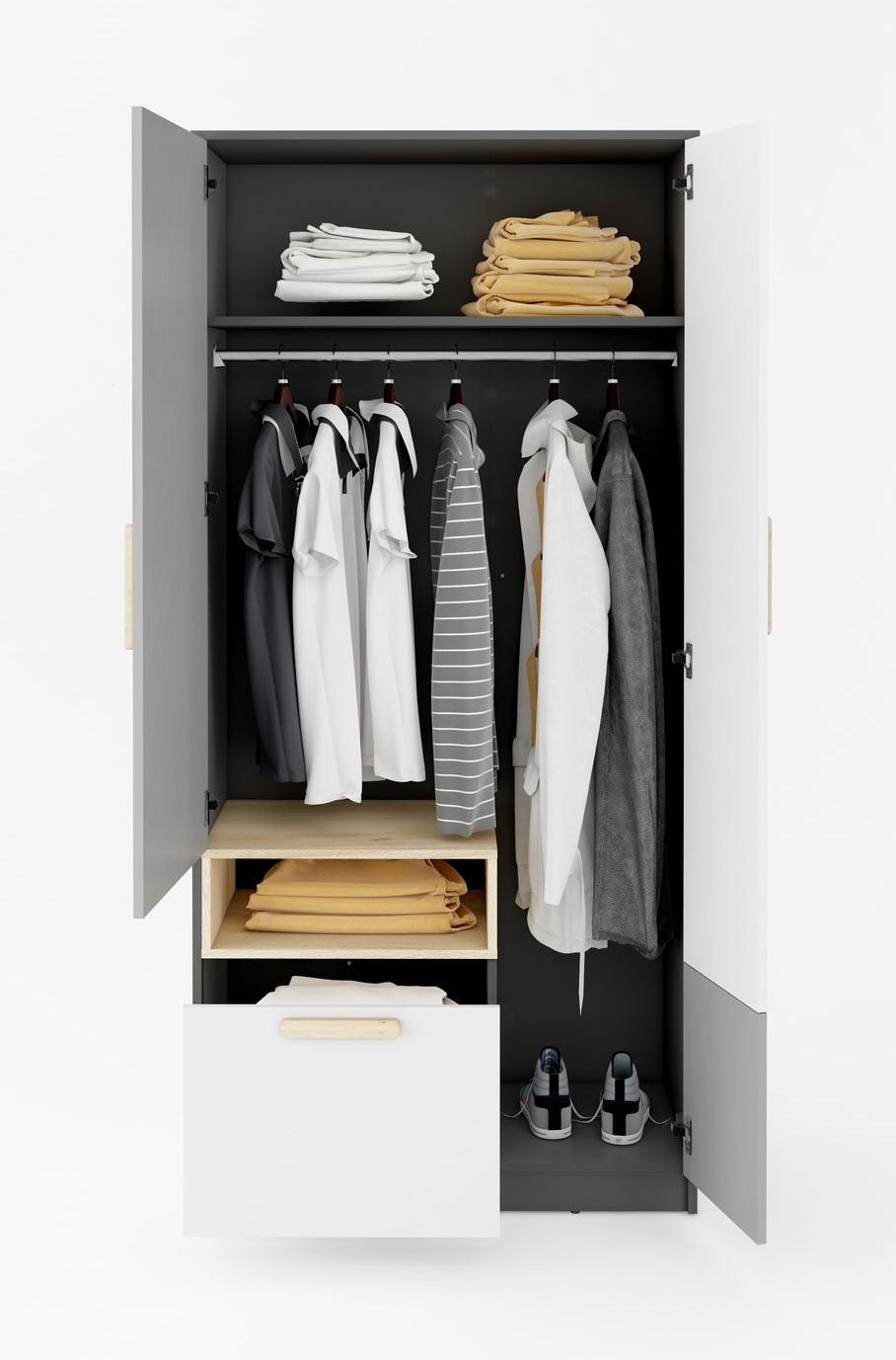 meble POK wnętrze szafy PO-02