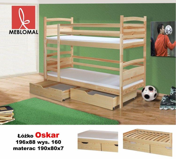 łóżko Piętrowe Oskar