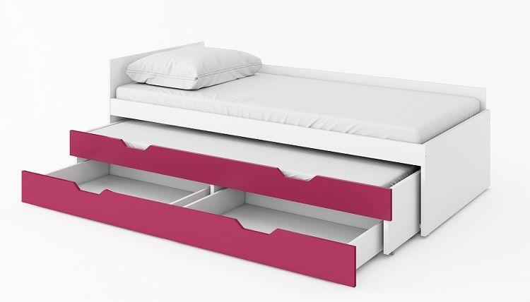 Yeti Y19 I Y20 Podwójne łóżko Z Materacami I Szufladą